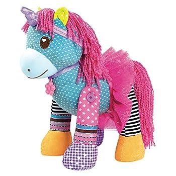 Adora Mixxie Pony 15  Plush and Interchangeable Parts Including Unicorn Headband/Tutu/Necklace