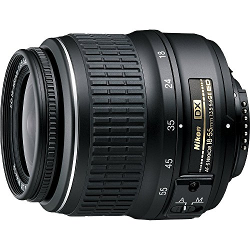 Nikon 18-55mm f/3.5-5.6G ED II AF-S DX Nikkor Zoom Lens (Certified Refurbished)