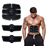EMS (Electrical Muscle Stimulation) through current stimulation, directly send the signal to muscles and promote muscle movement. All you have to do is to fit the stomach toner to your body and let it exercise your muscles. No harm to human body and ...