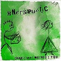 ワンリパブリックの歌手クリスマスウィズアウトユーミュージックアルバムカバーポスターコレクション壁飾りキャンバス写真-60x60cmフレームなし