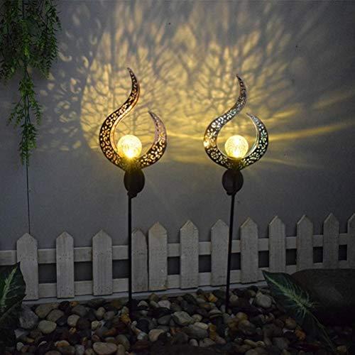 1 Stück Solar Garten Flammen Fackeln LED Bis Dawn Automatische EIN/Aus(Licht Sensor), Solarlampe mit Realistischen Flammen und Wasserdicht,Spotlight Gartenleuchte Licht Solar Außen warmlicht