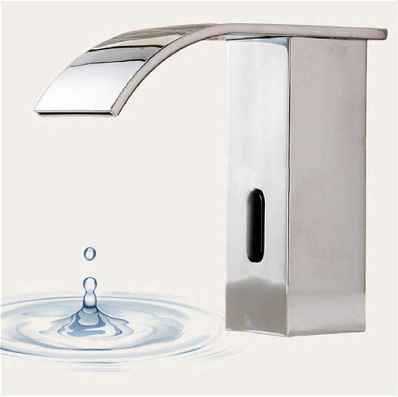 Wasserhahn Küche Bad Garten Armaturen Waschtischarmaturen Warm & Cold Bassin Chrom Messing Wasserfall Waschbecken Armaturen Ctzl5483