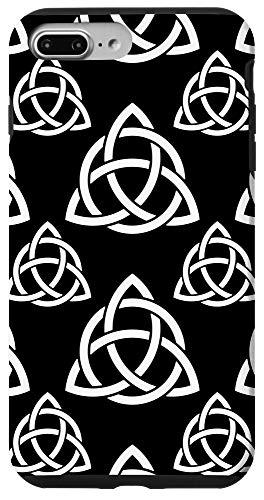 iPhone 7 Plus/8 Plus Triquetra Trinity Symbol Irish Celtic Knot Cheeky Witch Case