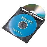 サンワサプライ DVD・CD不織布ケース(ブラック) FCD-FN100BKN 1セット(100枚り)