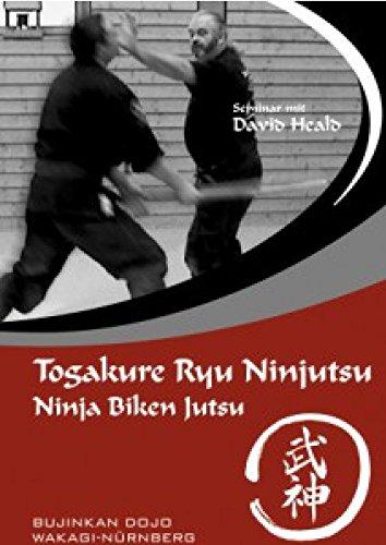 4-er DVD-Set Ninjutsu, Shinden Fudo Ryu und Waffen