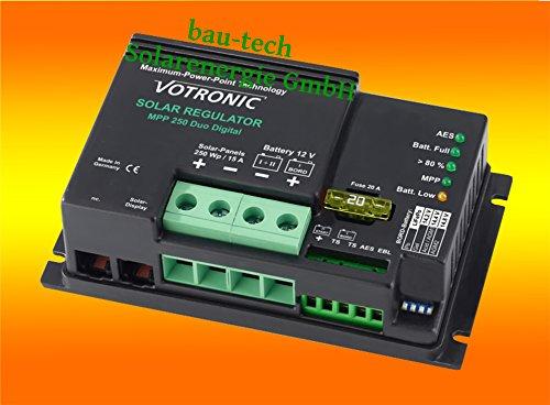 Votronic Laderegler MPPT 250 / 15A / 12V von bau-tech Solarenergie GmbH