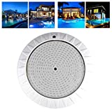 LED Underwater Light, IP68 Waterproof Underwater Light, 35W 360LED RGB Pool Light with Remote Control for Swimming Pool, Rockery, Aquarium, Garden, Fountain(AC12V)