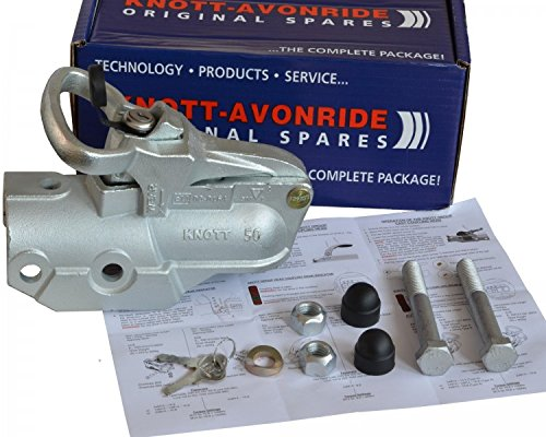 FKAnhängerteile 1 x Knott - Avonride - Kugelkupplung - 3500kg - Ø 60mm - Bohrungen Ø 14,5mm