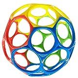 Jualyue Baby Ball Toy Early Education Handed Balle en Caoutchouc Souple colorée