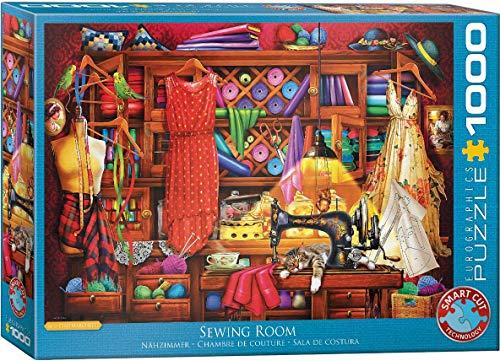 Eurographics 60005347 - Puzzle de costura, varios colores , color/modelo surtido