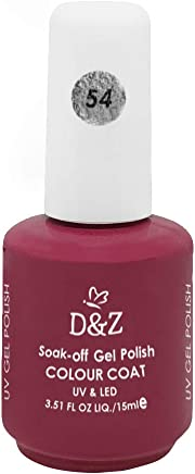 Esmalte D e Z Colorido Colour Cout Uv/Led Gel Polish 54 15ml