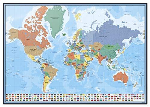 Grupo Erik Editores Vade Escolar Mapa Mundo