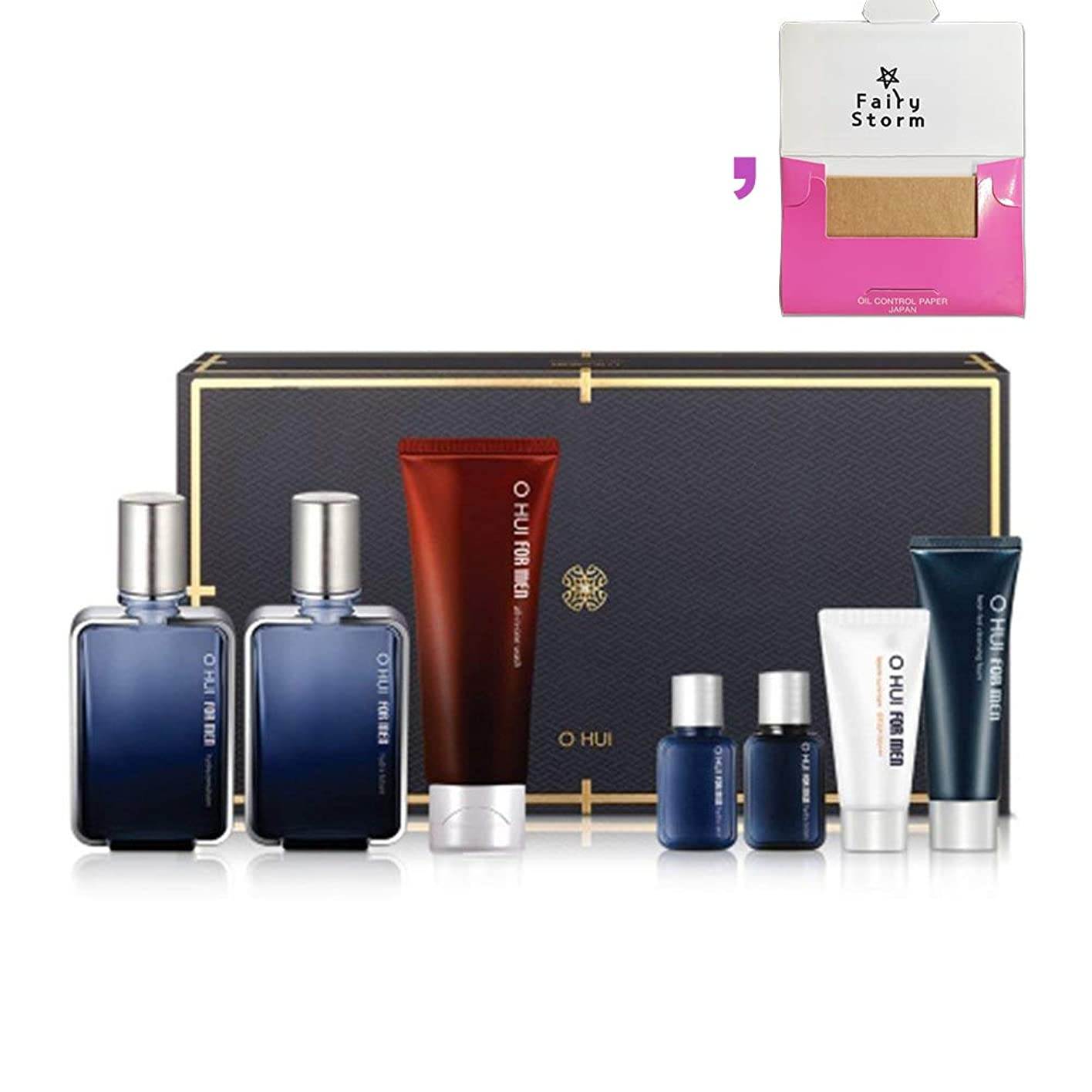 暖かさ箱時々時々[オフィ/O HUI]韓国化粧品 LG生活健康/OHUI FOR MEN Hydra 3EA SET-O HUI フォーマン ハイドラ セット 企画 2017旧正月 + [Sample Gift](海外直送品)