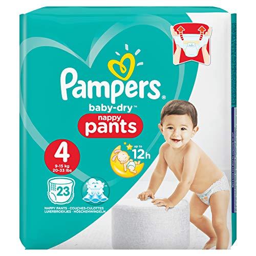 Pampers Easy Up - Le paquet de 22 - Changes bébé T4 8-15 Kg
