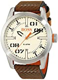 Hugo Boss Orange Oslo Herren-Armbanduhr Quartz mit Leder Armband 1513418