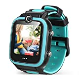 Kid Smart Watch Toy for 4-12 Year Old, Game Smartwatch with 4 GB Memory Card Screen Protector, HD Dual Cameras Watch for Kid, Game Toddler Watch, Smart Watch as Birthday Gift for kid Educational Toy