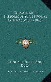 Commentaire Historique Sur Le Poeme D'Ibn-Abdoun (1846)