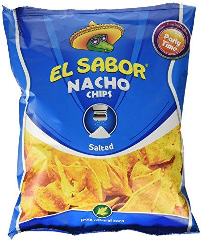 El Sabor Nachos Chips Natural - 225 gr