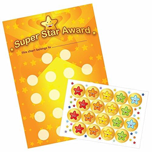 Schulaufkleber A3 Star Praise Classroom Collection Belohnungstafel & Aufkleber Bumper Pack