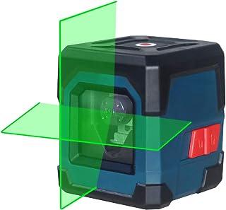 RockSeed クロスラインレーザー 2ライン 緑色 十字 レーザー墨出し器 自動水平調整機能ネジ穴対応 ミニ型 IP54アンチスプラッシュ1M耐衝撃性(バッテリー付属)2年保証 日本語取扱説明書 LV1