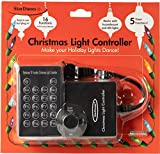 StarDunes Christmas Light Controller, 16 Flash/Fade Functions, 5 Timer Functions