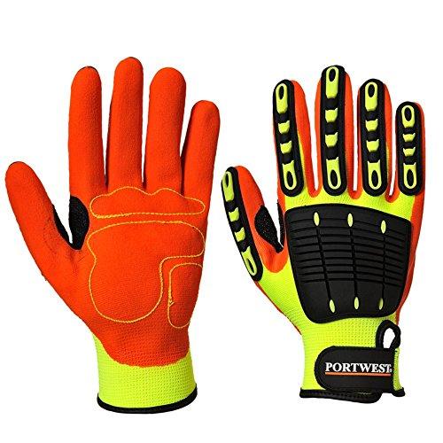 Portwest a721-choc gegen Handschuh Grip, L, Yeor