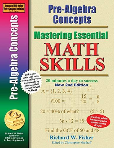 Pre-Algebra Concepts 2nd Edition...