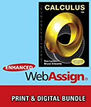 Bundle: Calculus, 10th + WebAssign Printed Access Card for Larson/Edwards' Calculus, 10th Edition, Multi-Term
