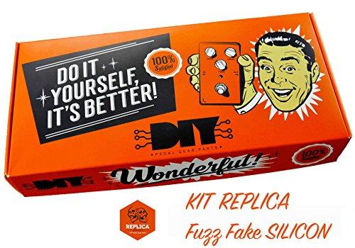 diypedalgearparts® Kit Replica Fuzz Fake Silizium (Fuzz Face)