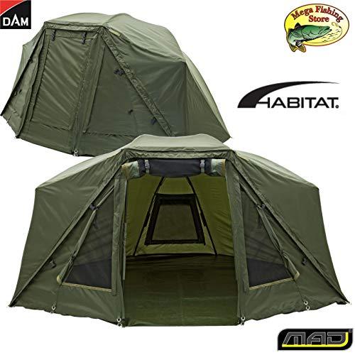 DAM MAD Brolly System Plus Outdoor Zelt - Angelzelt/Karpfenzelt - bis 2 Personen
