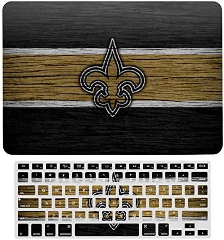 G III Sports New Orleans Saints New 2020 MacBook air 13 Case Laptop Hard Case and Keyboard Film product image