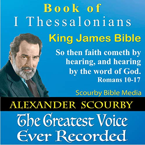 Book of I Thessalonians: King James Bible audiobook cover art