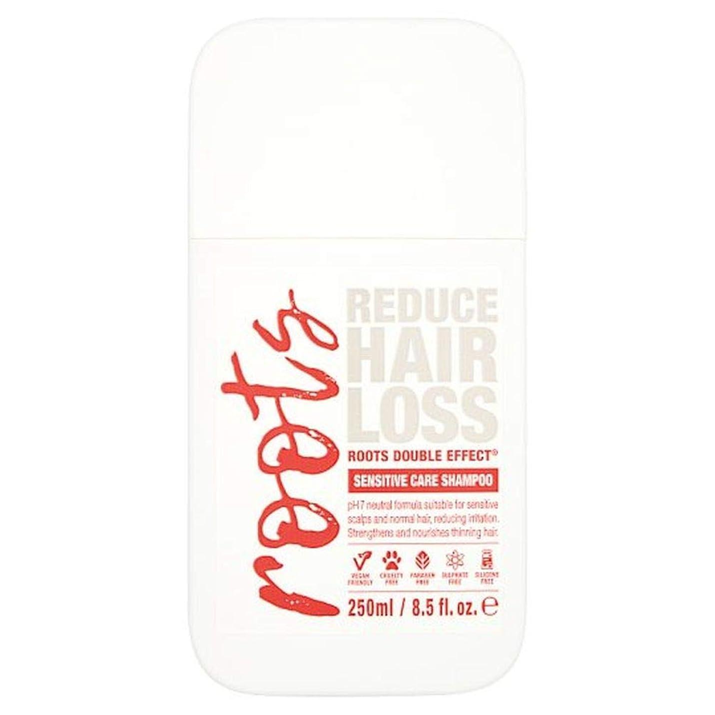シャトルナプキンボーナス[Roots ] 根重に敏感なケアシャンプー250Ml - Roots Double Sensitive Care Shampoo 250Ml [並行輸入品]
