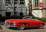 Die Legende: 300 SL (Tischkalender 2022 DIN A5 quer): Der legendäre Mercedes 300 SL in opulenten Bildern (Geburtstagskalender, 14 Seiten )