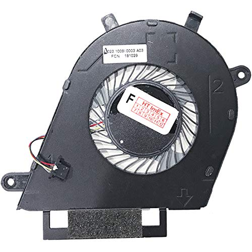 Fan Cooler Compatible with Dell Inspiron 13 7380 (i7-8565U), 13 7380 (UHD Graphics 620)