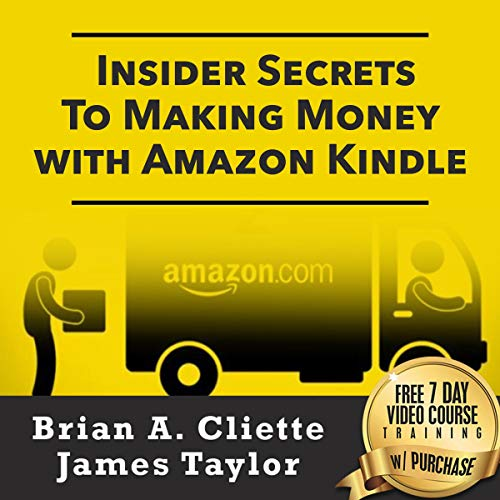 Insider Secrets to Making Money with Amazon Kindle audiobook cover art