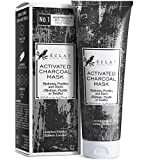 Advanced Charcoal Face Mask - 3X Clearer Skin With Organic Activated Bamboo Charcoal + 4 Clays -...
