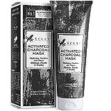 Mascarilla de Carbón Facial Eclat – Mascarilla Facial Carbón Activo con Carbón de Bambú...