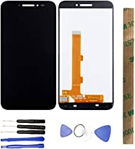 JayTong LCD Display & Replacement Touch Screen Digitizer Assembly with Free Tools for Alcatel One Touch Shine Lite 5080 OT5080 5080X 5080A 5080U 5080F Black