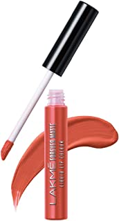 Lakme Forever Matte Liquid Lip Colour, Orange Tango, 5.6 ml