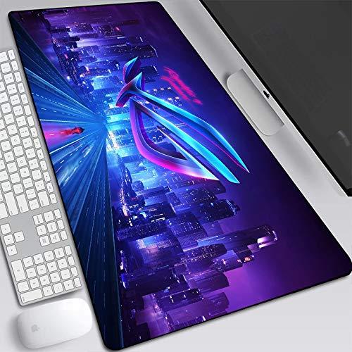 JINGMIAO Asus Gaming 2021 - Alfombrilla de ratón grande para ordenador portátil