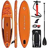 AQUA MARINA FUSION SUP inflatable Stand Up Paddle Surfboard Board Paddel