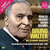 Bruno Walter: Recorded Live In the Royal Festival Hall, 1955