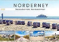 NORDERNEY Bezaubernde Nordseeinsel (Wandkalender 2022 DIN A2 quer): Strand, Duenen, Hafen und Meer (Monatskalender, 14 Seiten )