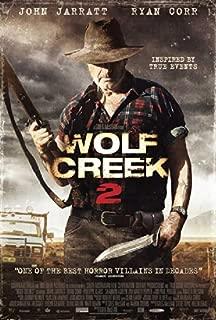Wolf Creek 2 27x40 Movie Poster (2014)