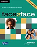 face2face Intermediate Workbook with Key Second Edition