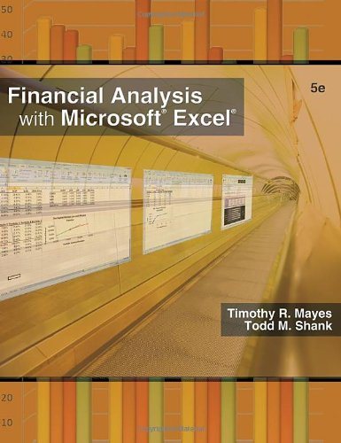 Financial Analysis with Microsoft Excel 2007