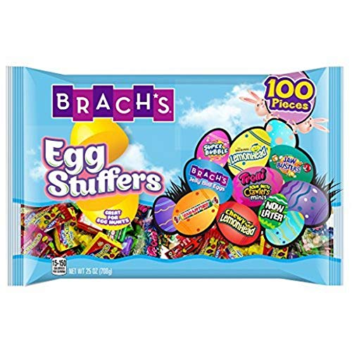 Brachs Stuffers Easter Candy Variety, 100 Pieces (Pack of 2) Individually Wrapped