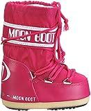 Moon Boot 140044, Stivali Invernali Unisex, Materiale suola: Gomma, Rosa...