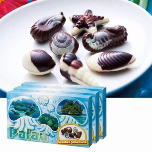 パラオ シーシェル チョコレート 3箱セット【賞味期限】8月16日 【パラオ おみやげ(お土産) 輸入食品 スイーツ】